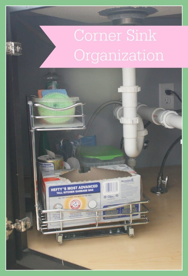 Corner Sink Organization Diy Mama