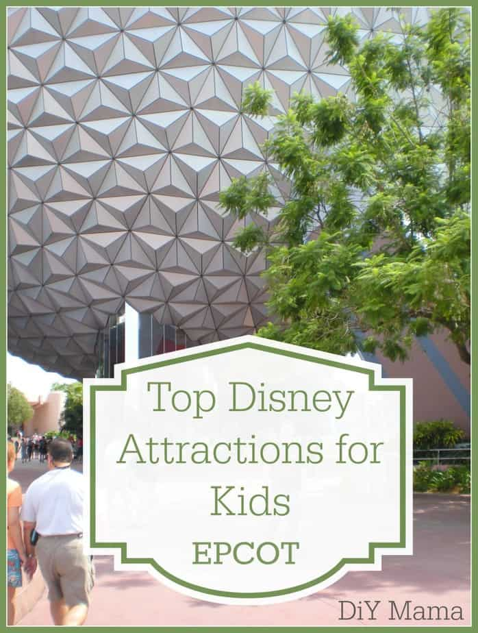 attractions epcot kids