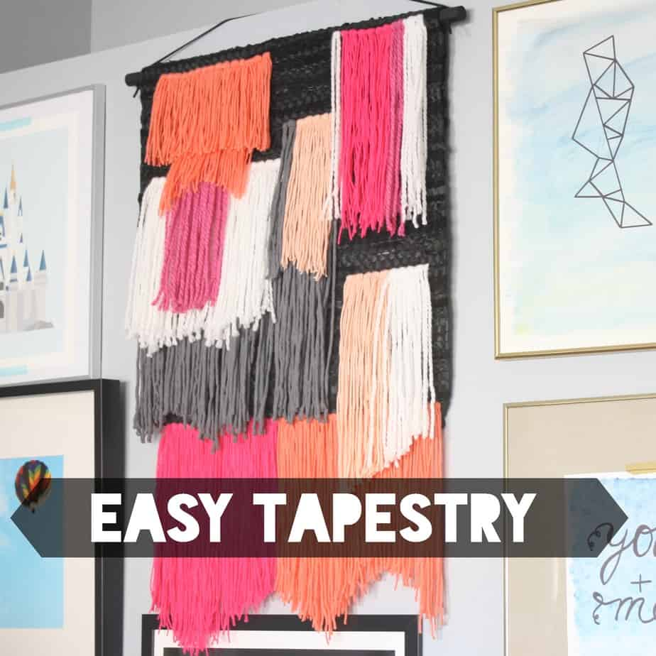 Woven Tapestry Wall Hangings woven wall hanging - diy mama