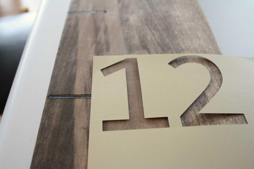 number-stencil