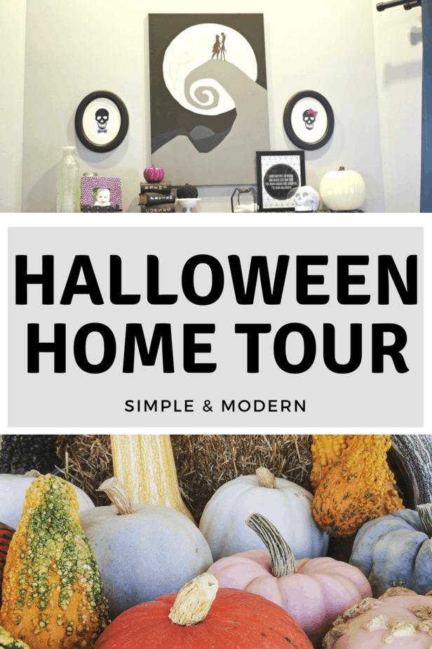 DIY Halloween Home Tour