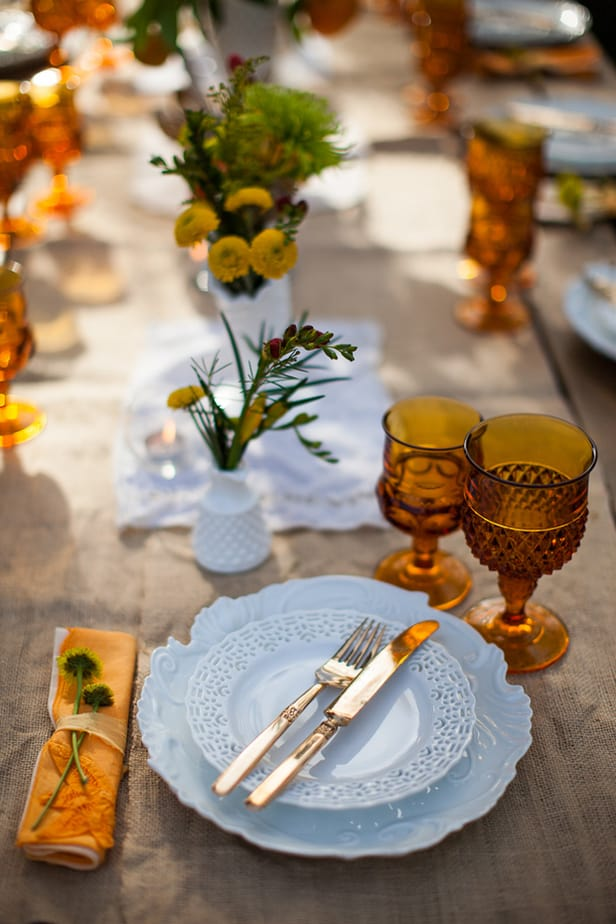 Thrifty Thanksgiving Tablescape
