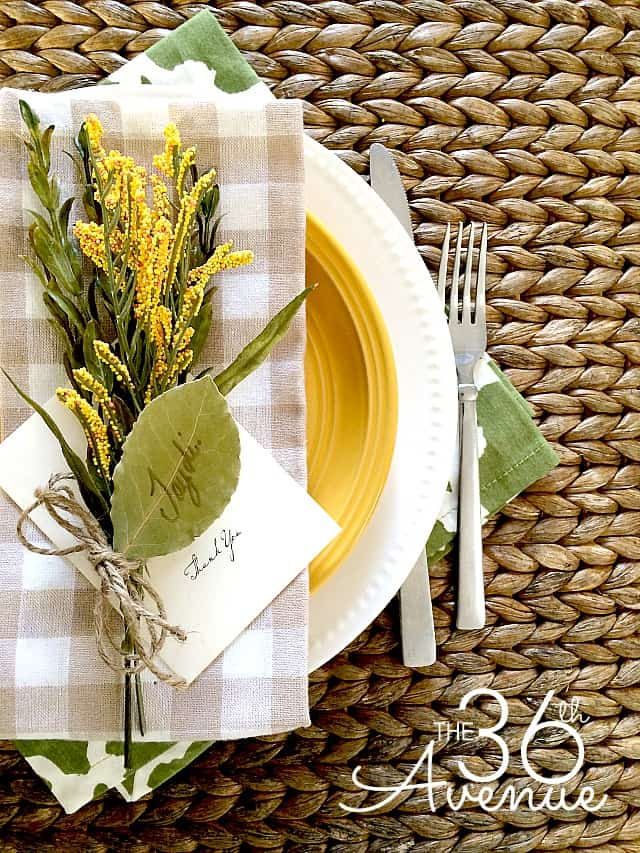 Layered Thanksgiving Tablescape