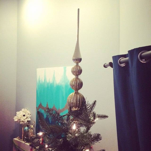 Here's our tree topper! #SITSBlogging ?