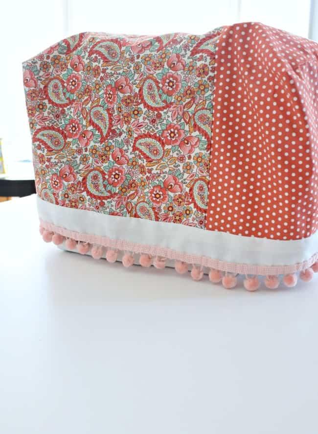 diy sewing machine cover