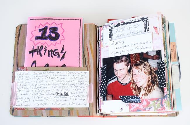 Love Letters Scrapbook Diy Mama