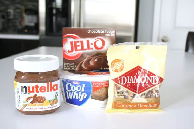 Delicious Nutella Parfait Dessert