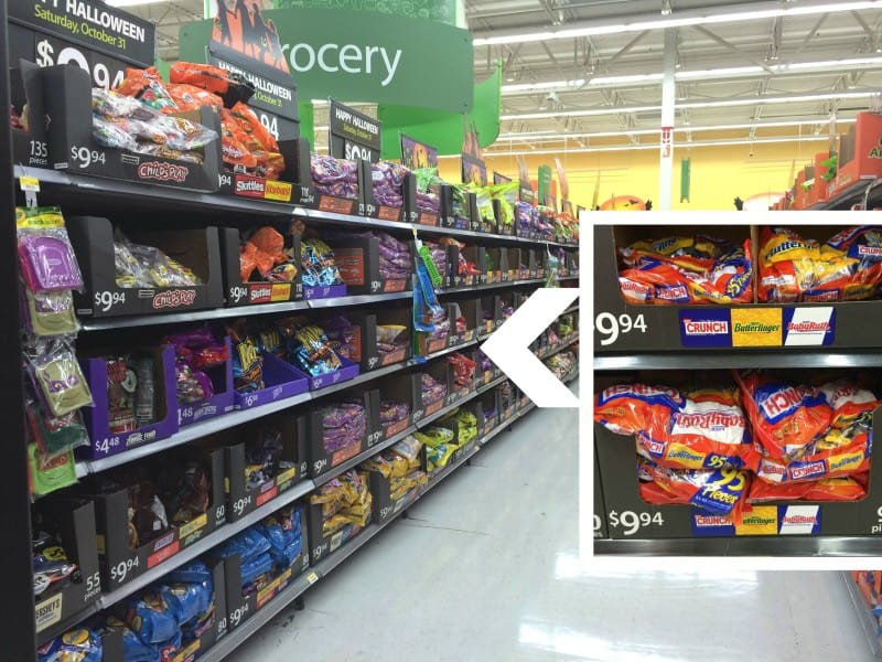 Nestle Halloween Candy at Walmart