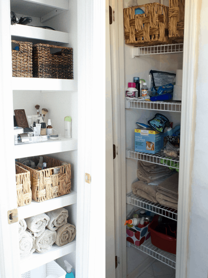 Closet Storage. Bed Bath & Beyond's closet storage department is designed to get the most use out of limited space. Whether you have a small coat closet or a walk-in vanity room, these organization solutions will keep your home neat and tidy.