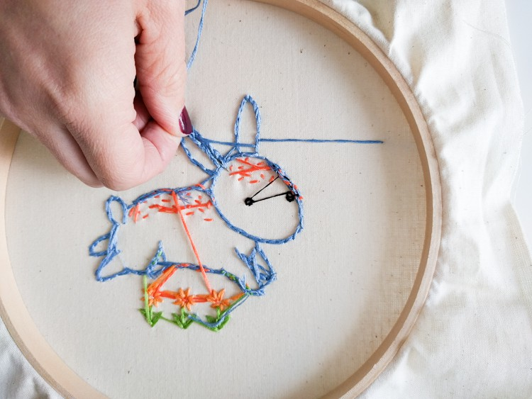 Simple embroidery for beginners diy mama