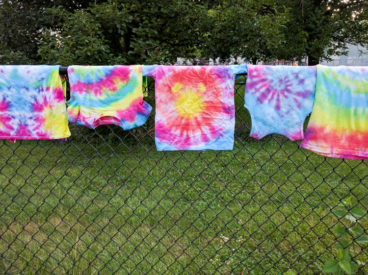 Tiedye fence 1 of 1
