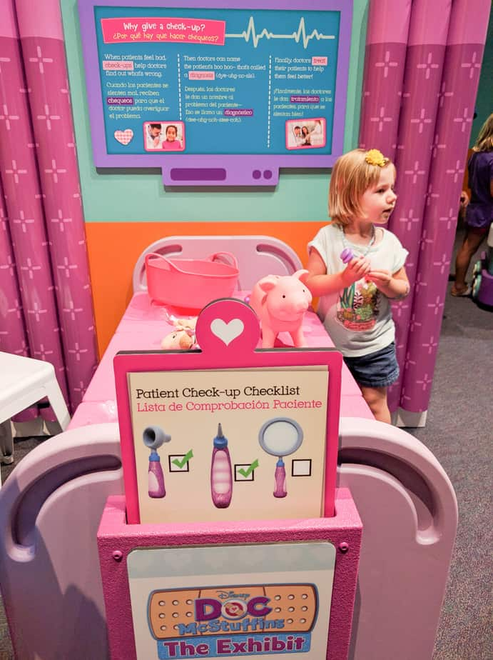 Doc Mcstuffins Is In At The Children S Museum Indy S