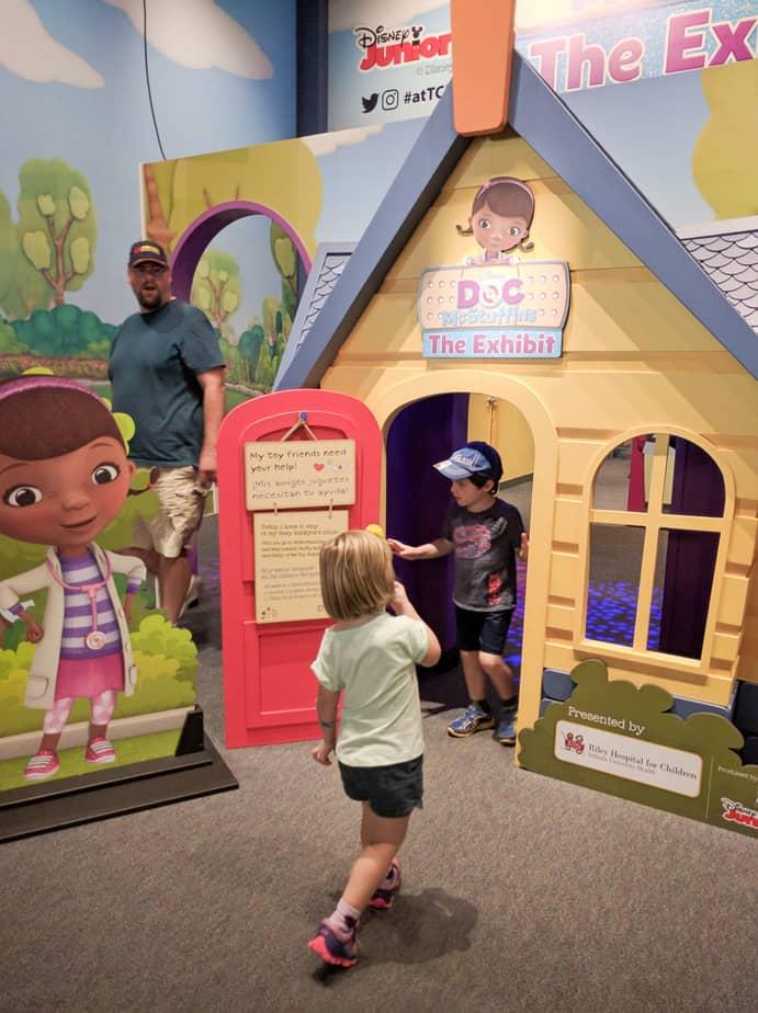 Doc McStuffins at the Indianapolis Children's Museum