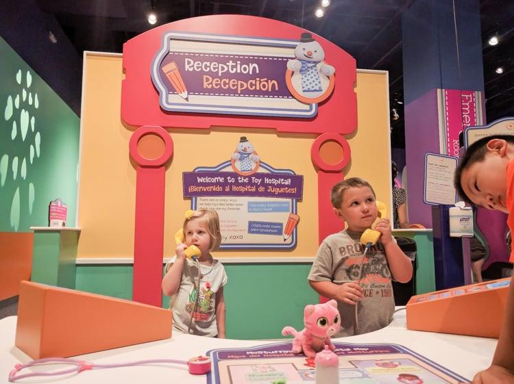 Doc Mcstuffins Hospital Exhibit Tour