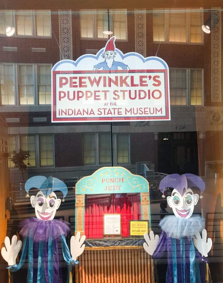 Peewinkle's Puppet Studio at the IMA