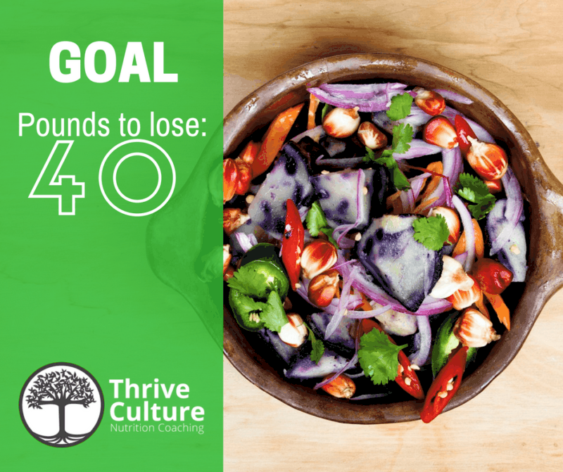 Thrive Culture Health Coaching to Lose Weight