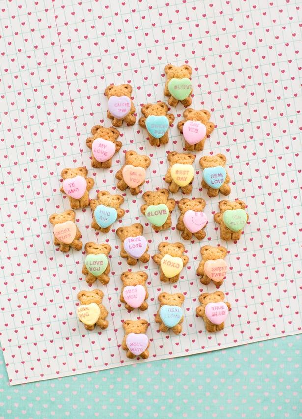 teddy bear graham valentines treats