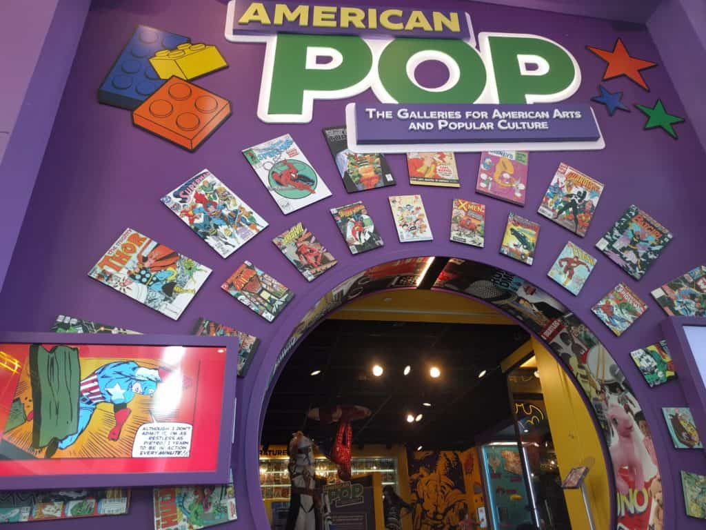 Comic Book American POP Exhibit at The Children's Museum of Indianapolis