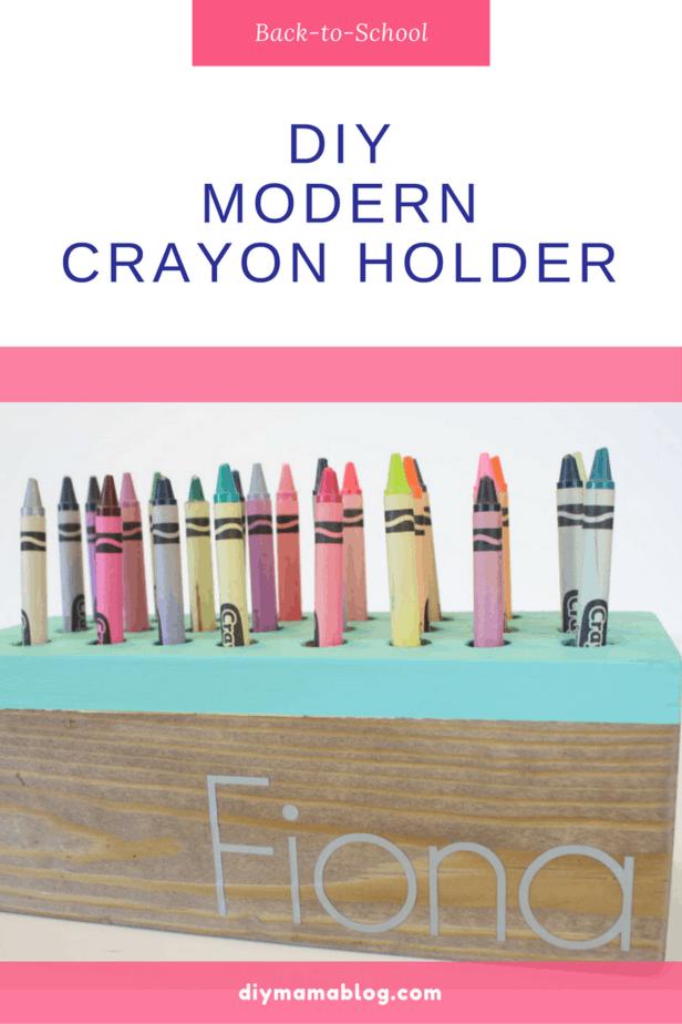 Modern Crayon Holder