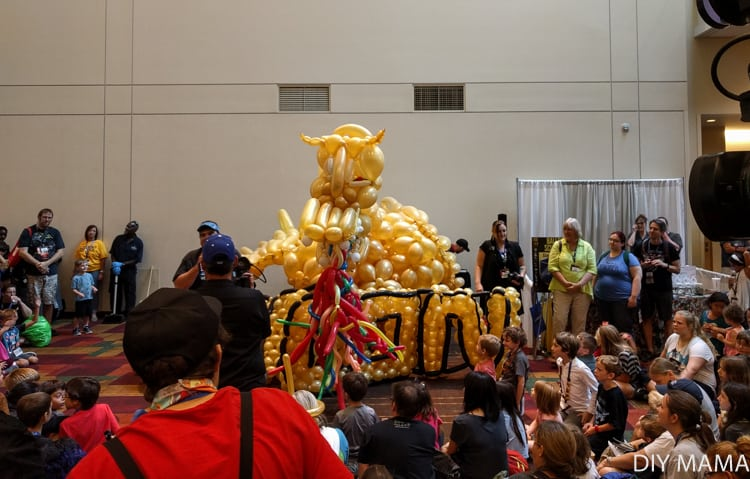 Gen Con Balloon Dragon