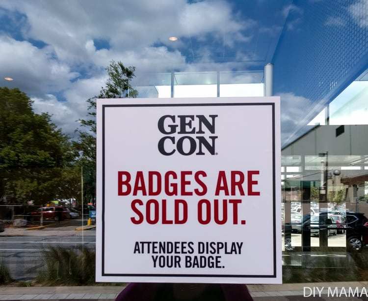 Gen Con Badges