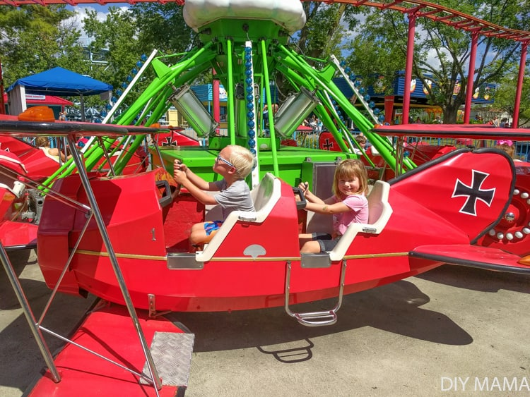 Kids Rides at Kings Island