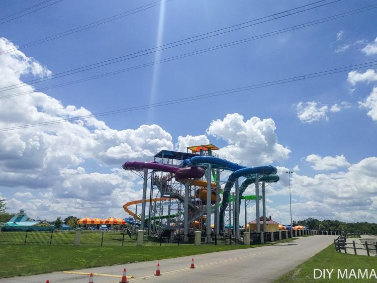 Soak City at Kings Island Ohio