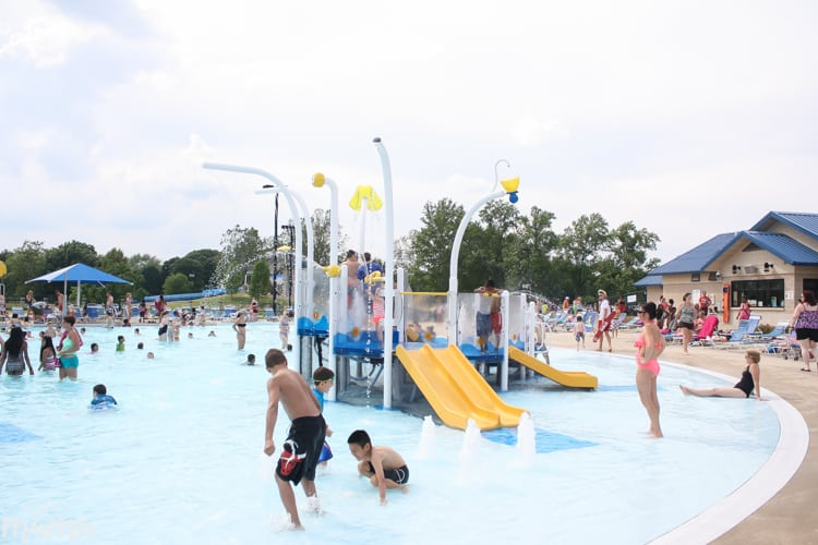 Splash Pads and Water Parks in North Indianapolis