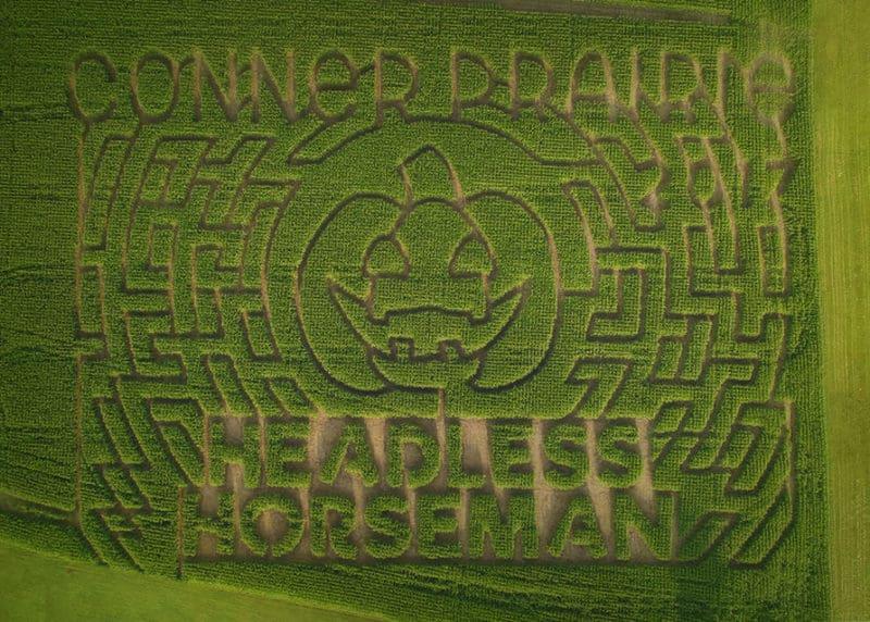 New Corn Maze this Fall at Conner Prairie