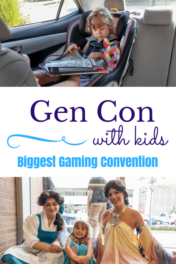 Gen Con with Kids
