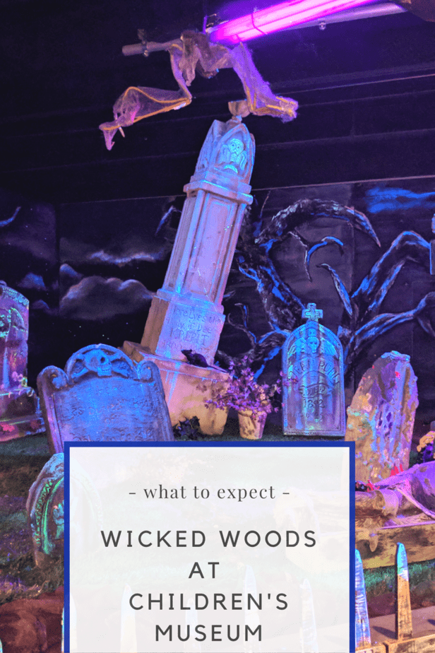 Wicked Woods at The Children's Museum Haunted House in Indianapolis