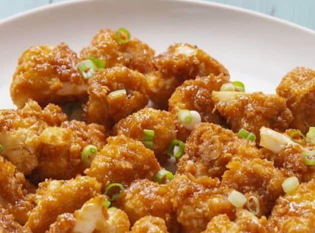 honey garlic cauliflower recipe
