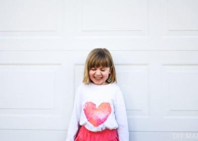 Preschool Valentines Day Heart Shirt