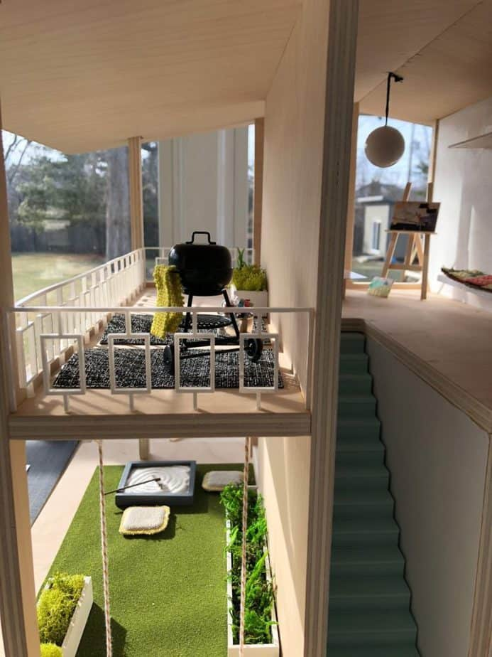 The Most Awesome Dollhouse for the Most Awesome Cause • DIY Mama